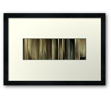Moviebarcode: Sequence from Harry Potter and the Deathly Hallows: Part 1 (2010) Framed Print