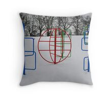 Frozen Parkland No4 Throw Pillow
