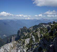 The Cascade Mountains by OffOn