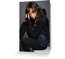 Ellen Page phone case 5 Greeting Card