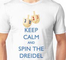 HANUKKAH - KEEP CALM AND SPIN THE DREIDEL Unisex T-Shirt