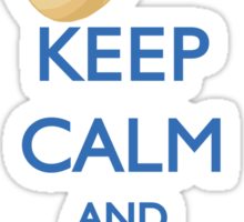 HANUKKAH - KEEP CALM AND SPIN THE DREIDEL Sticker