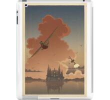 Planes & Castle iPad Case/Skin