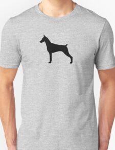 Doberman Pinscher Silhouette(s) Unisex T-Shirt