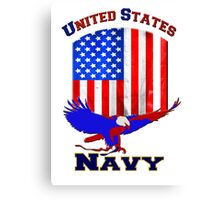United States Navy Canvas Print