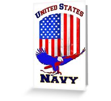 United States Navy Greeting Card