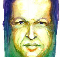 Hugo Chavez by Meredith Nolan