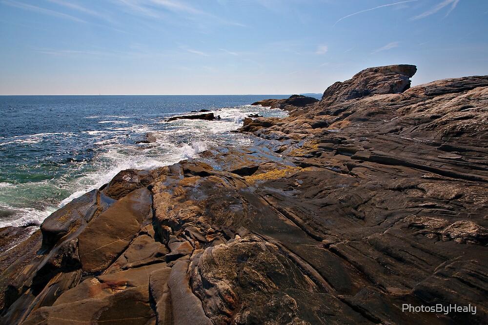 Rocky coast by PhotosByHealy