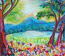 Evening on Long Pond by Diane  Kramer