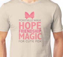Ponyville Walk for Cutie Pox Unisex T-Shirt