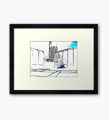 Lincoln Center, NYC Framed Print