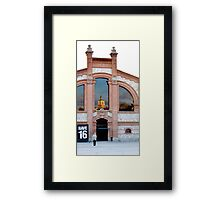 A Place to Kill ... Time Framed Print