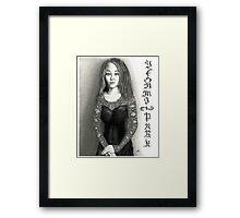 Yeonmi Park - Korean Activist 2015 Framed Print