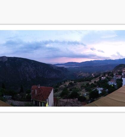 Delphi, Greece Sticker