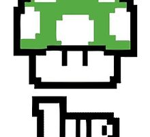 1 Up Mario Bros. by VovaShirts