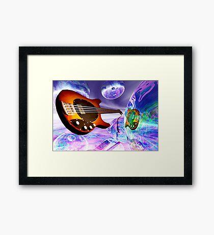 Heaven's Bass #1 Framed Print