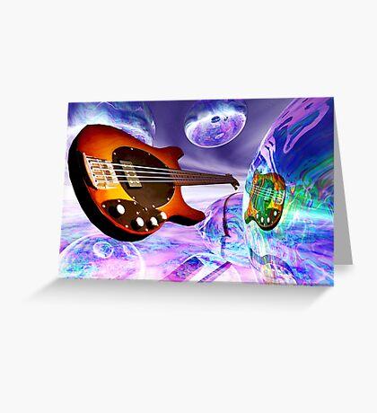 Heaven's Bass #1 Greeting Card
