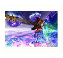 Heaven's Bass #2 Art Print