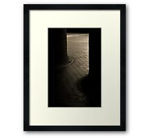 Barbican Curves Framed Print