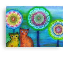 Cats and Trees Canvas Print