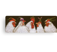 Sous Chefs at the Vegan Cafe' Canvas Print