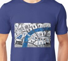 Along the river Thames Unisex T-Shirt