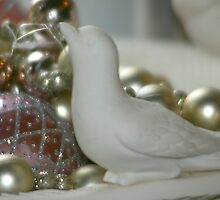 Dove Christmas Ornament by Mowny