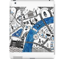 Along the river Thames iPad Case/Skin