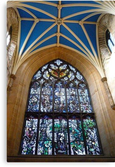 Inside St Giles by Yonmei