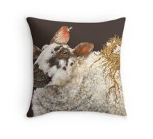 Best Nest Throw Pillow
