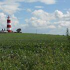 Happisburgh Lighthouse by Emily Clarke