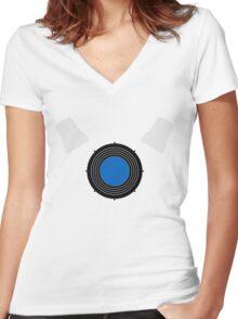Dalek Women's Fitted V-Neck T-Shirt