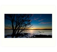 Coles Bay Sunset Art Print