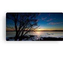 Coles Bay Sunset Canvas Print