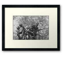 The 107th Infantry Memorial Framed Print
