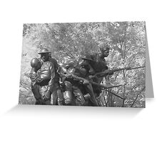 The 107th Infantry Memorial Greeting Card