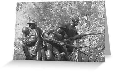 The 107th Infantry Memorial by photographist
