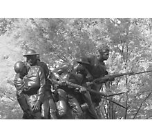 The 107th Infantry Memorial Photographic Print