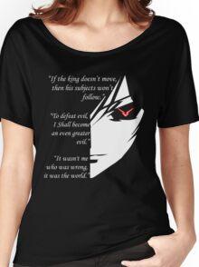 The Testamennt of Lelouch Vi Britannia Part 1 Women's Relaxed Fit T-Shirt