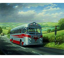 Silver Star Tiger coach Photographic Print