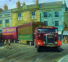 Scammell Showtrac by Mike Jeffries