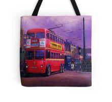 London trolleybus Tote Bag