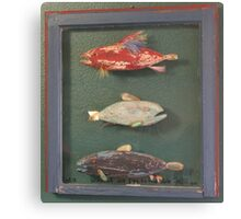 "Windows are Fish to the Sole 1 of 13.  32"" x 24"" (SOLD) Canvas Print"