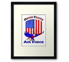 United States Air Force Framed Print