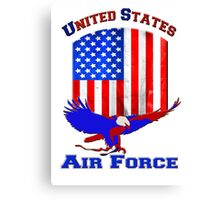 United States Air Force Canvas Print