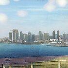 Downtown San Diego by Rozalia Toth