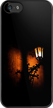 Lantern, its light and shadow (T-Shirt & iPhone case) by Lenka