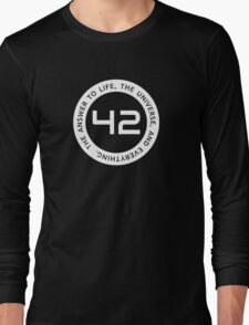 42 - The Ultimate Answer Long Sleeve T-Shirt