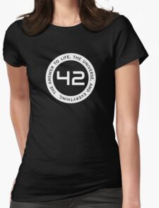 42 - The Ultimate Answer Womens Fitted T-Shirt