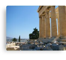 View of the Athens from the Acropolis Canvas Print